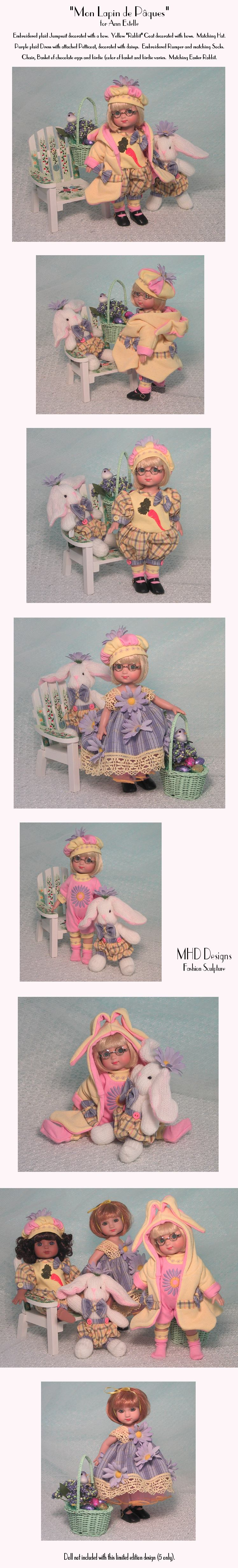 MHD Designs - My Easter Bunny - for Ann Estelle