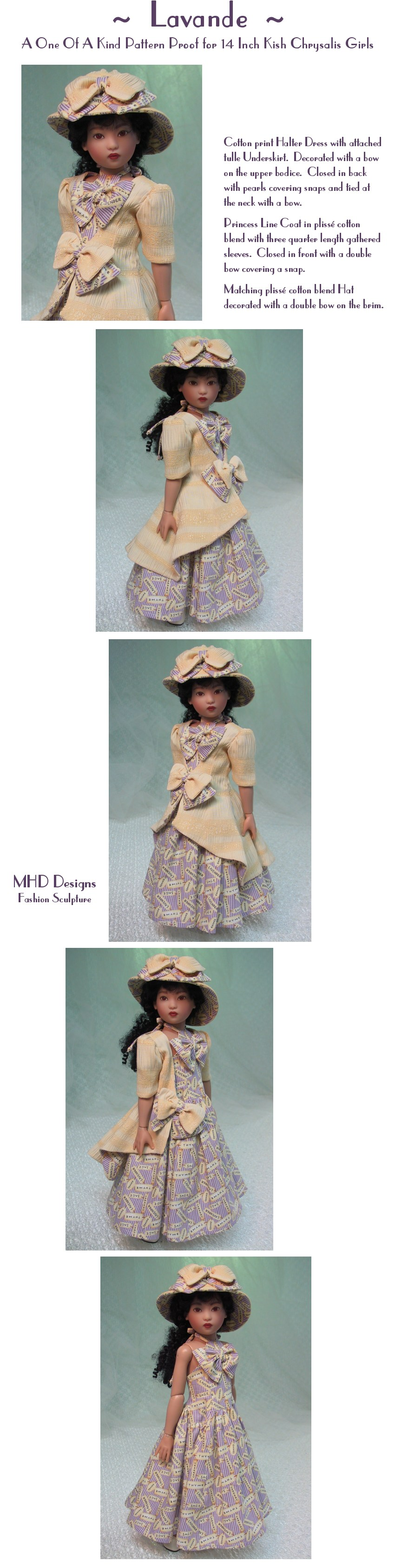 Lavander  - a One Of A Kind Pattern Proof by MHD Designs - High Resolution Photographs, your patience is appreciated!