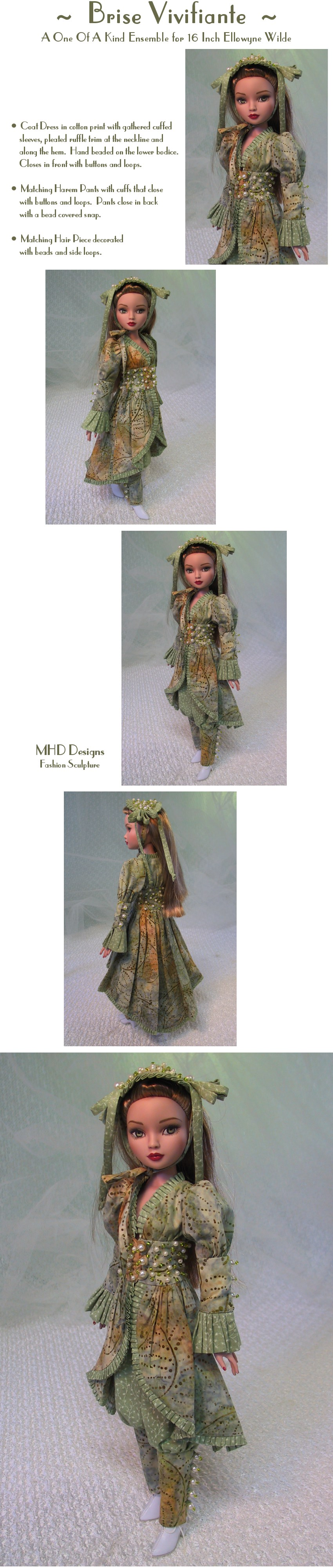 Invigorating Breeze  - a One Of A Kind Ensemble by MHD Designs