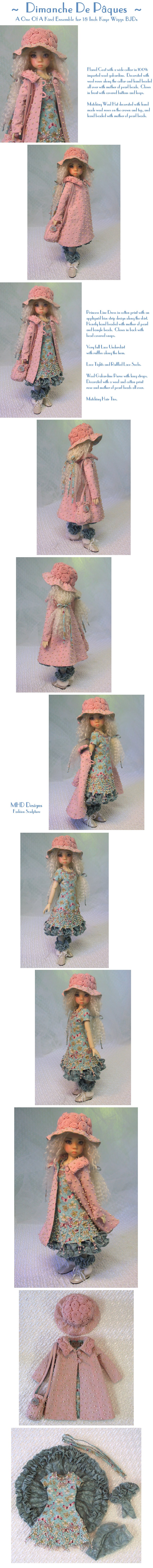 Easter Sunday  - a One Of A Kind Ensemble by MHD Designs - High Resolution Photographs, your patience is appreciated!