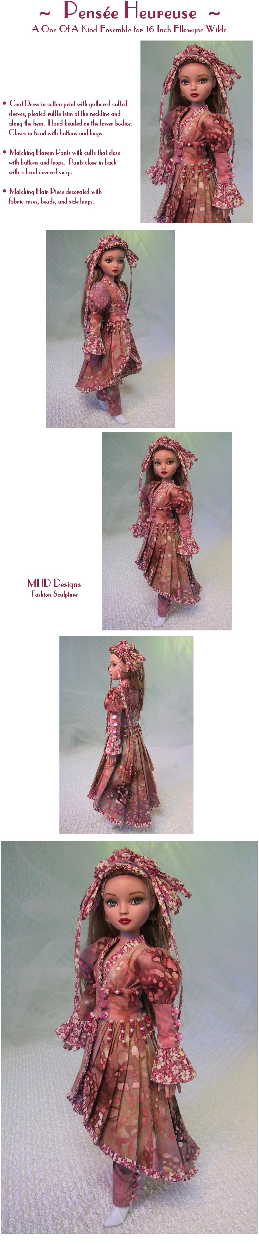 Happy Thought  - a One Of A Kind Ensemble by MHD Designs