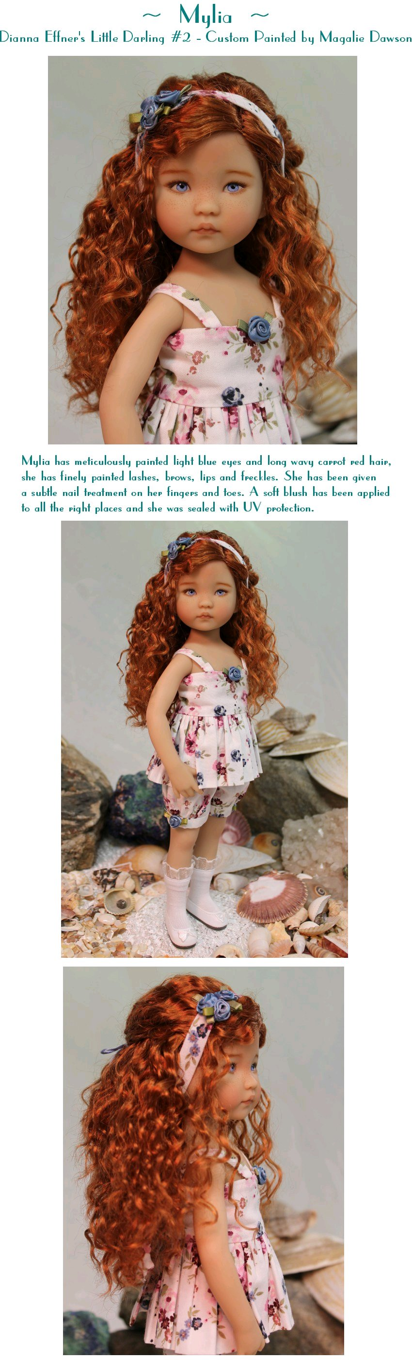 Mylia - Dianna Effner's Little Darling #2 Painted by Magalie Dawson