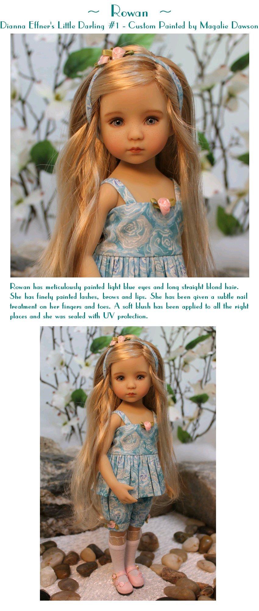 Rowan  - Dianna Effner's Little Darling Painted by Magalie Dawson
