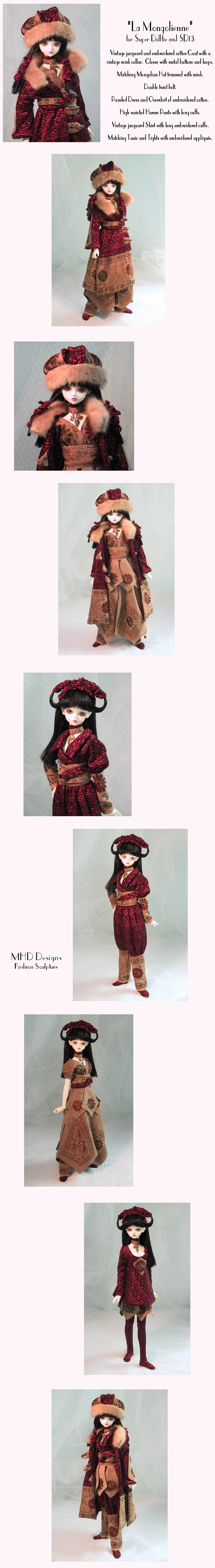 The Mongolian - a One of a Kind Design for Super Dollfie and SD13