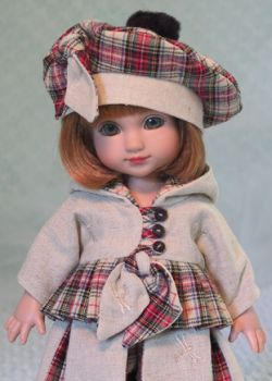 Click here to see more pictures of - Scotland Plaid - for   Ann Estelle and Friends