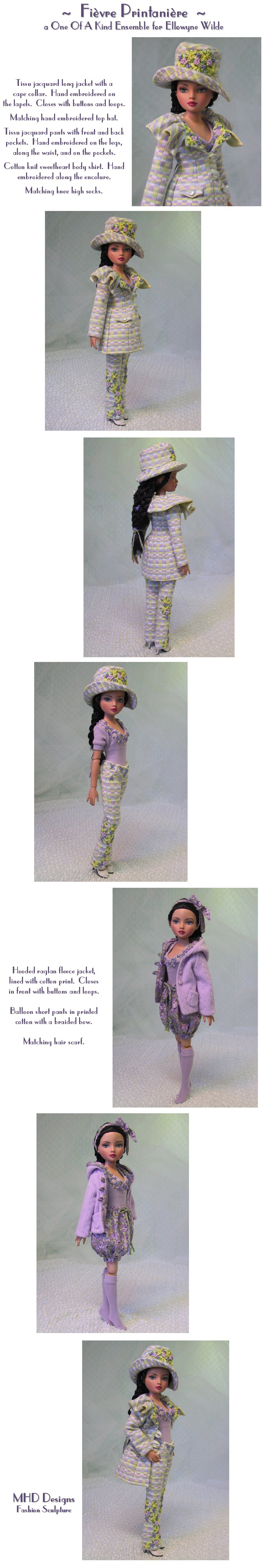 Spring Fever - an OOAK Extended Ensemble by MHD Designs - High Resolution   Photographs, your patience is appreciated!
