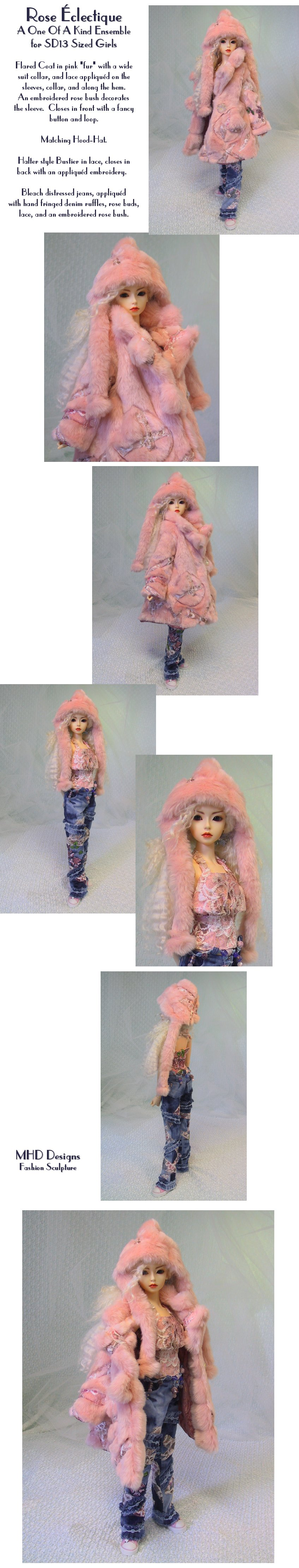 Eclectic Pink - an OOAK Ensemble by MHD   Designs