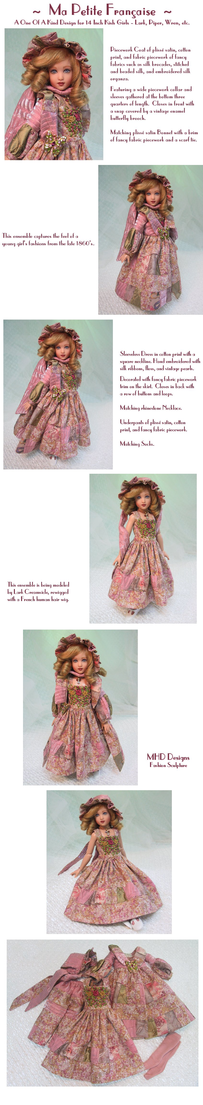 MHD Designs - My Little French Girl - a One Of A Kind Design Collection