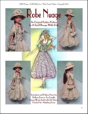 Robe Nuage Fashion Pattern for Ellowyne