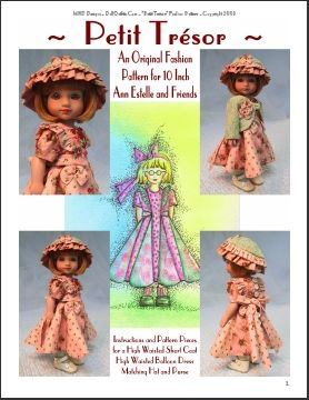 MHD Designs - Ann Estelle Fashion Pattern Page