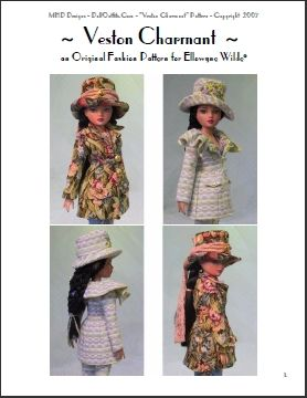 Ellowyne Wilde Free Patterns http://www.ebay.com/itm/Ellowyne-Wilde-Fashion-Pattern-Veston-Charmant-/150487925815